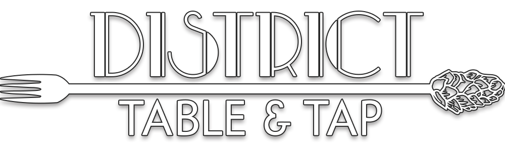 District Table and Tap Logo